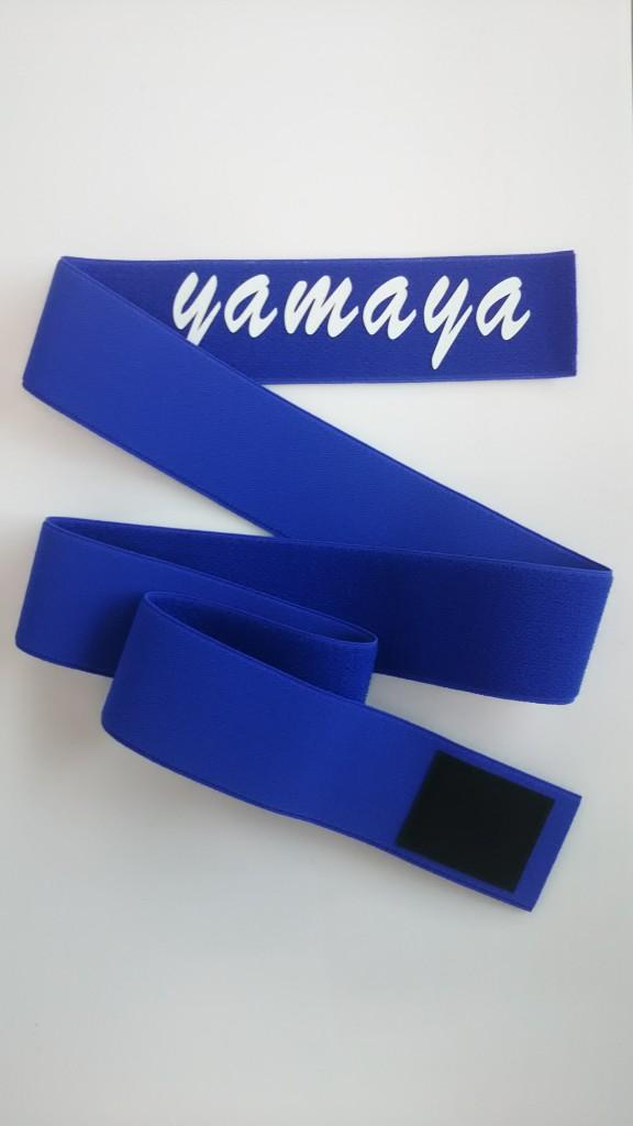 青色のバンテージ